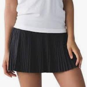 Lululemon Mini Pleated Running Skirt/Short